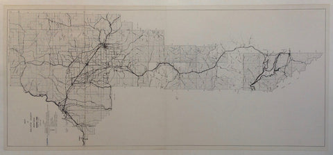 Map of Gallatin County Montana