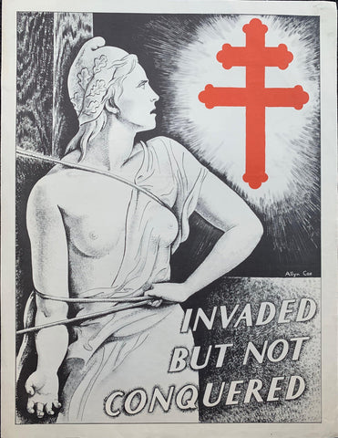 Invaded but not conquered - Poster Museum
