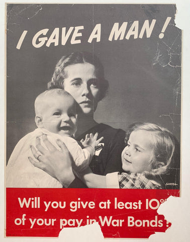 I Gave a Man ! - Poster Museum