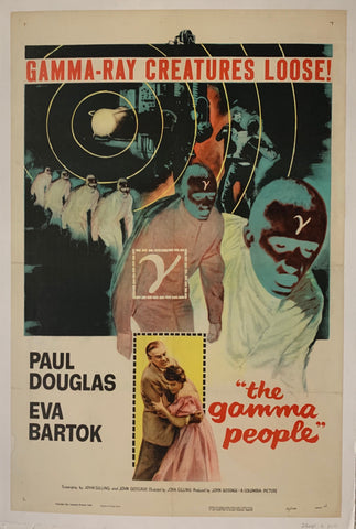 The Gamma People Film Poster