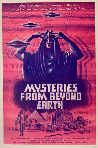 Mysteries From Beyond Earth Film Poster