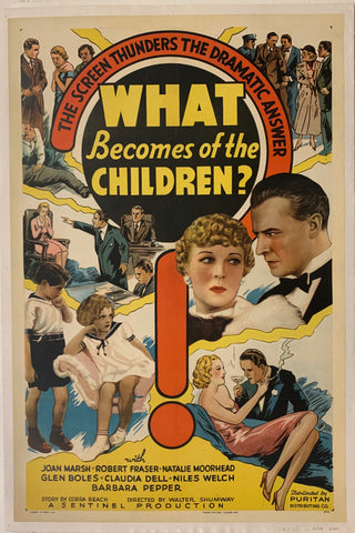 What Becomes Of The Children? Film Poster