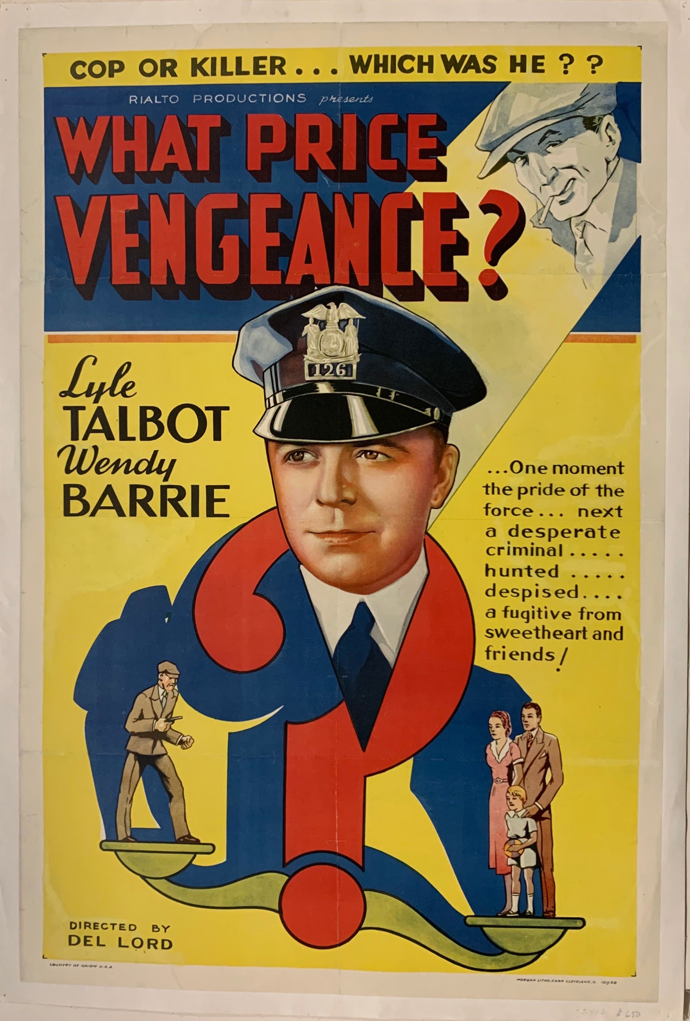 What Price Vengance? Film Poster
