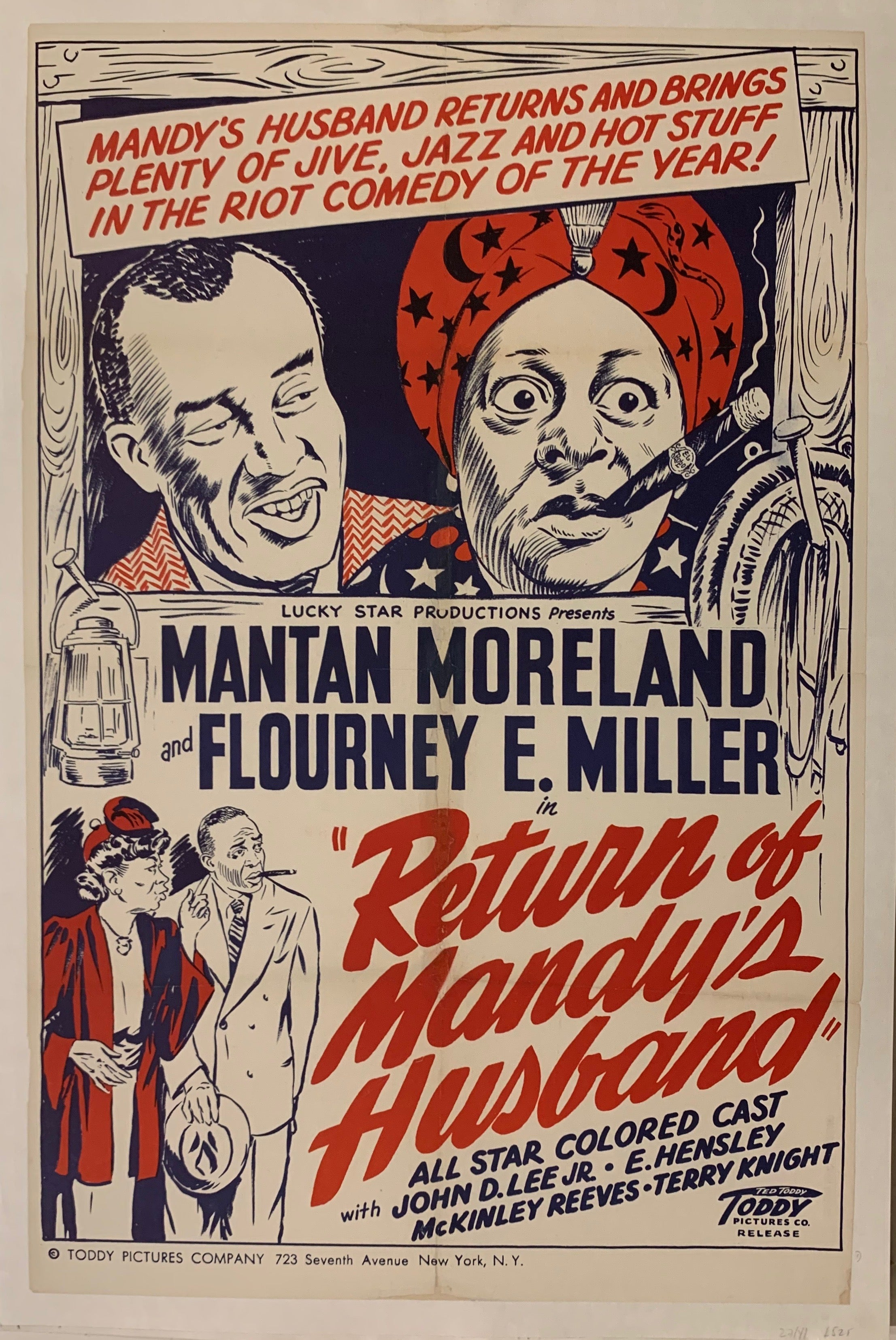 Return Of Mandy's Husband Film Poster