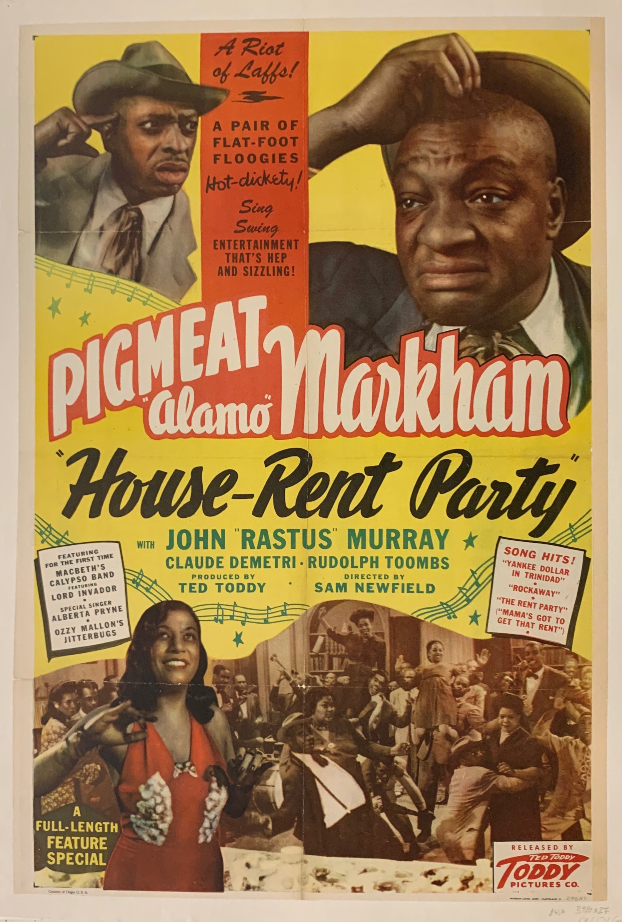 House Rent Party Film Poster