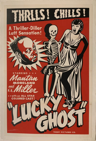 Lucky Ghost Film Poster