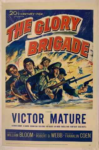 The Glory Brigade Film Poster