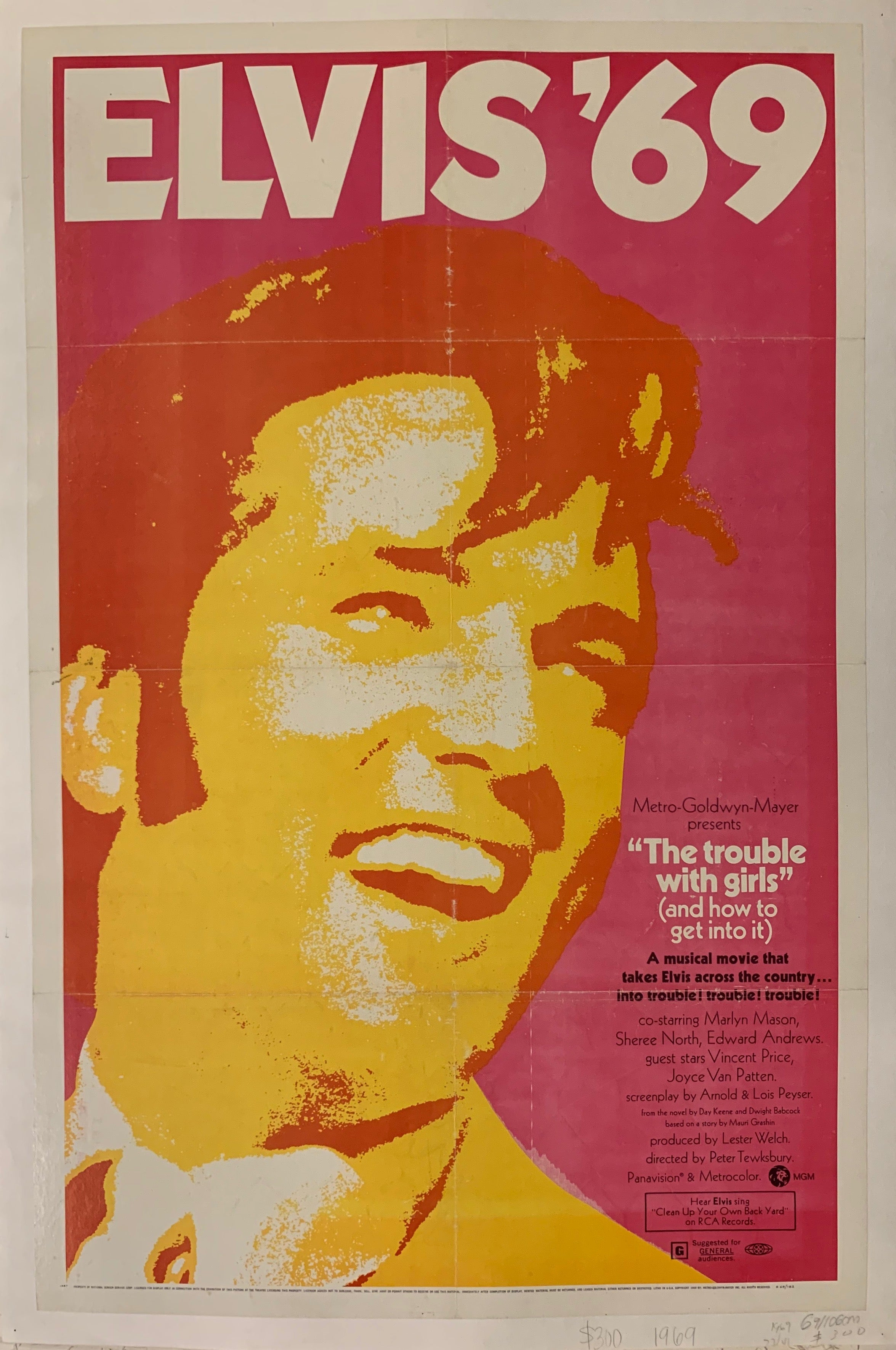 The Trouble With Girls Film Poster