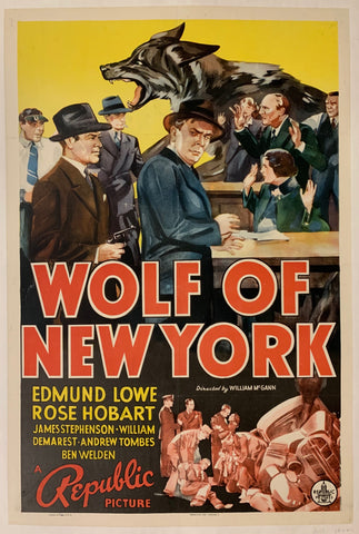 Wolf of New York Film Poster