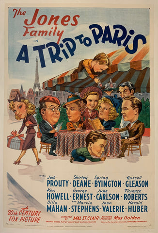 A Trip to Paris Film Poster