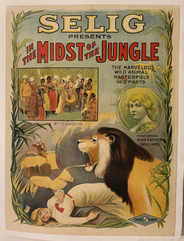 In The Midst Of The Jungle Film Poster