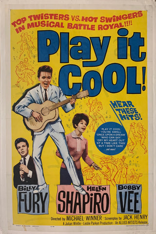 Play it Cool! Film Poster