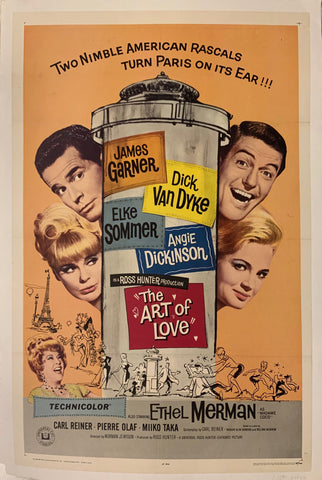 The Art of Love Film Poster