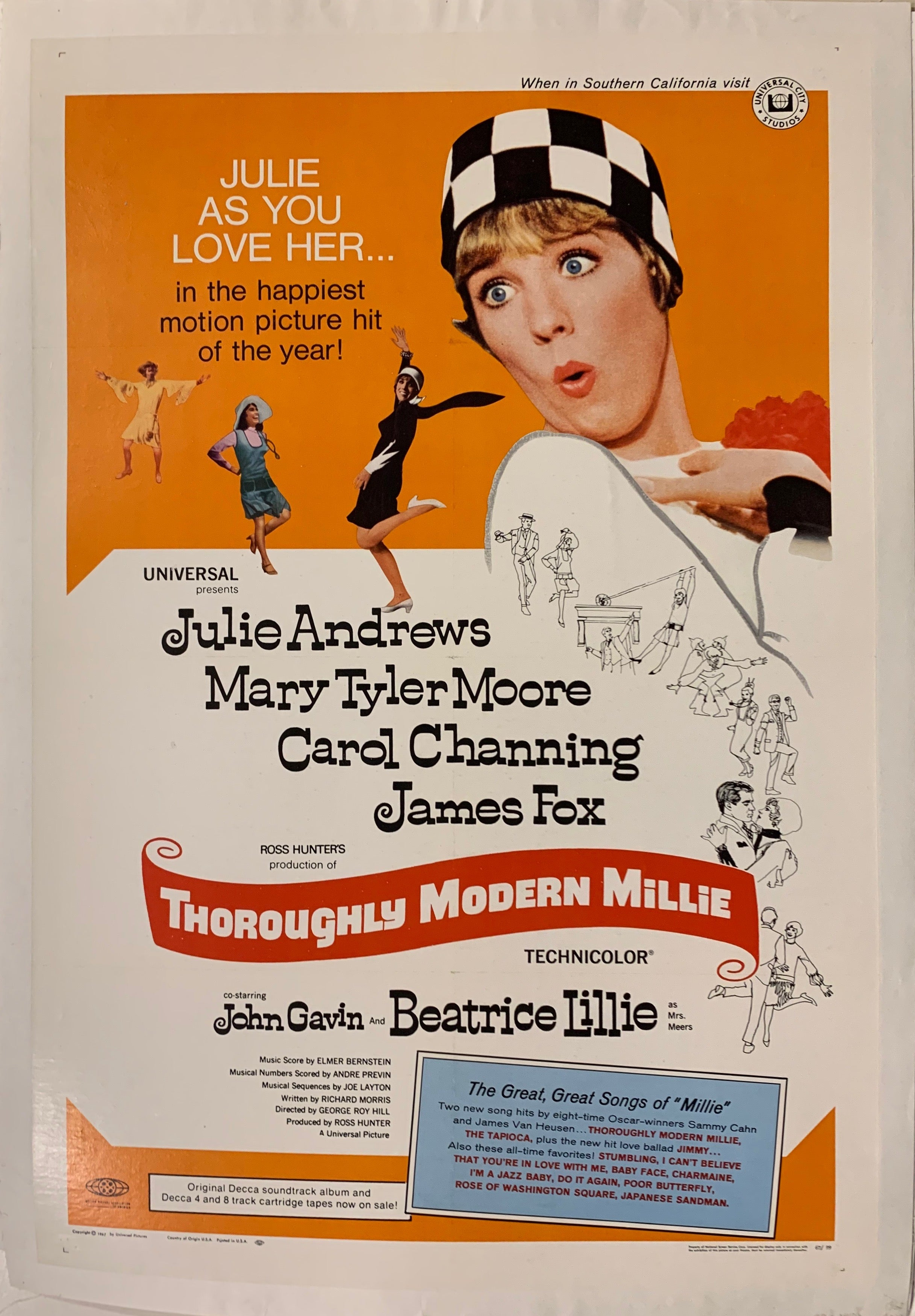Thoroughly Modern Millie Film Poster