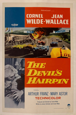 The Devil's Hairpin Film Poster