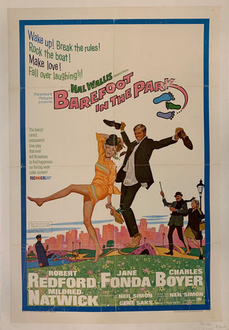 Barefoot in the Park Film Poster