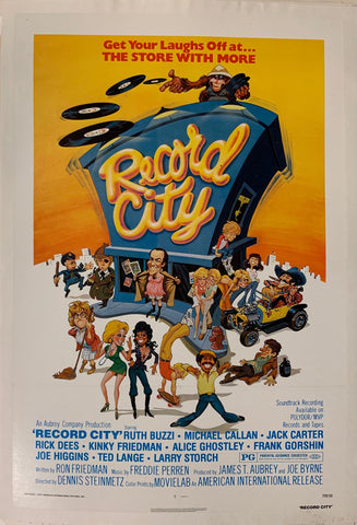 Record City Film Poster