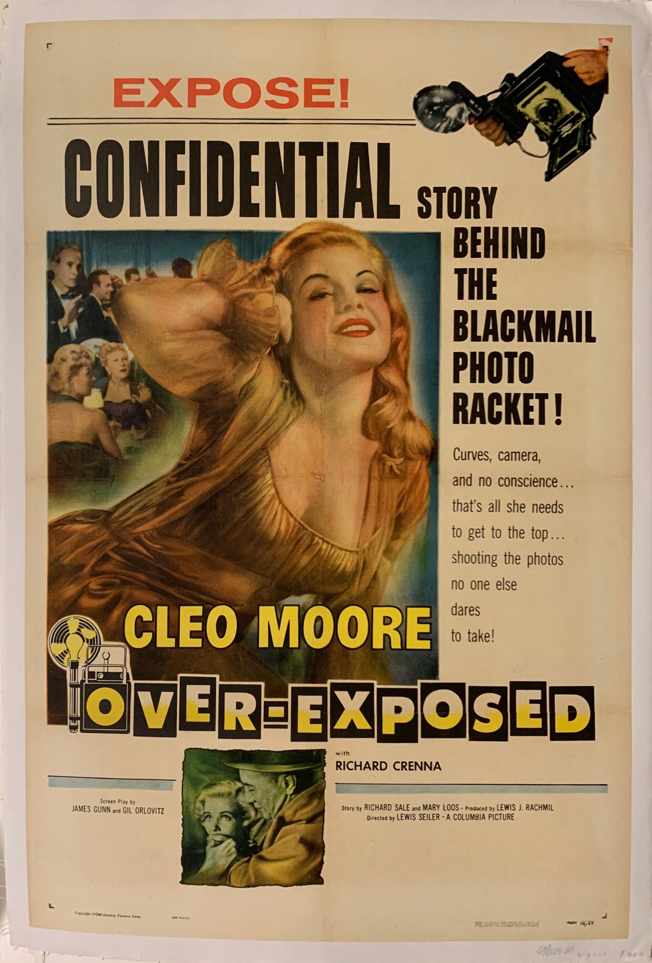 Over-Exposed Film Poster