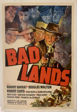 Bad Lands Film Poster