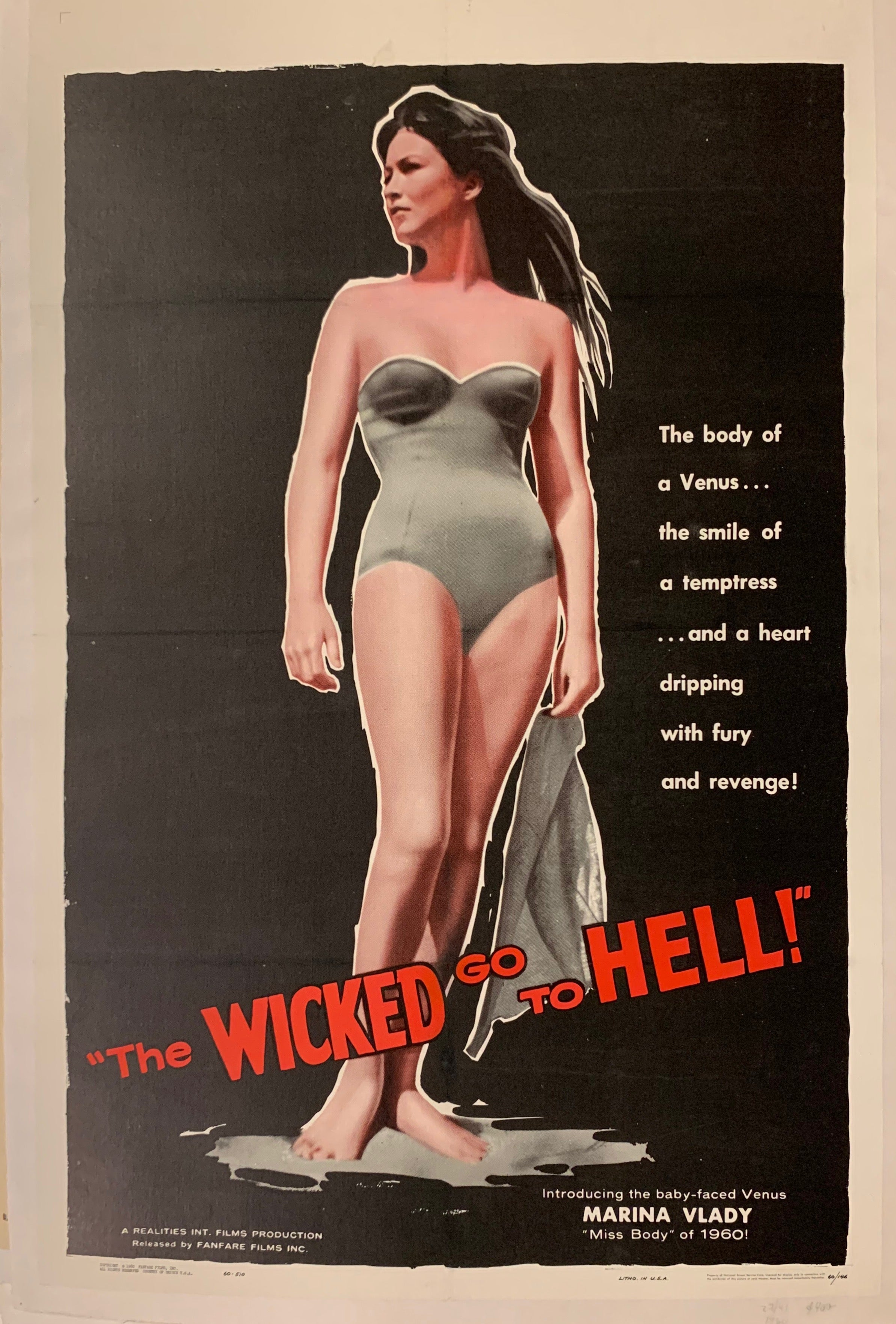 The Wicked Go to Hell Film Poster