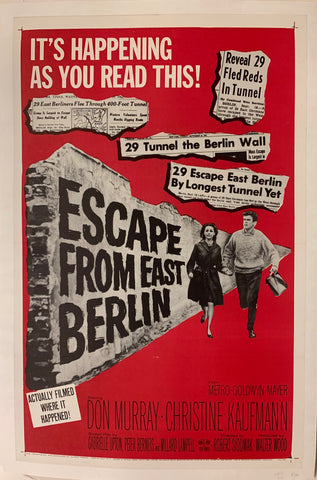 Escape From East Berlin Film Poster