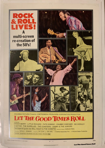 Let the Good Times Roll Film Poster