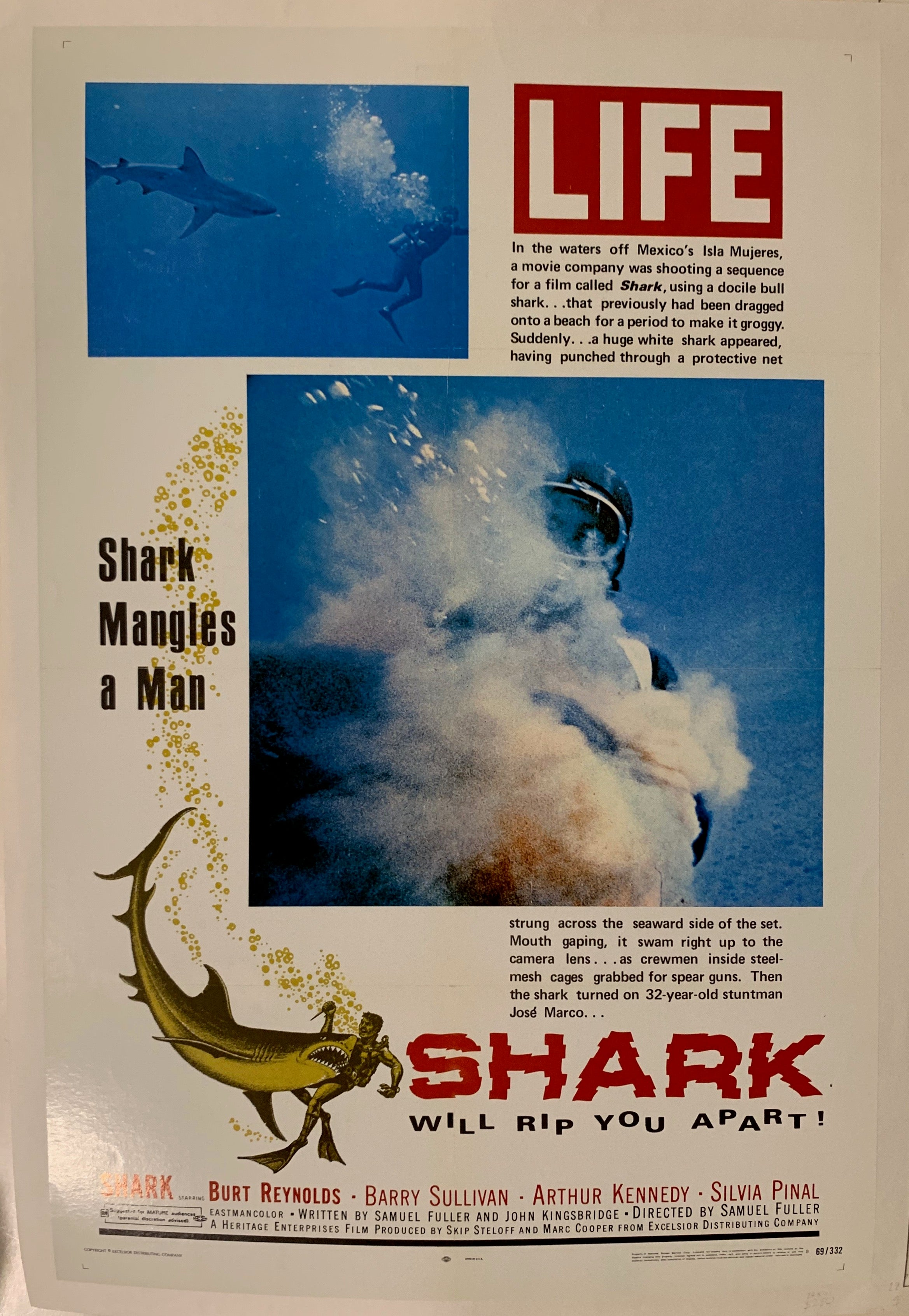 Shark Will Rip You Apart Film Poster
