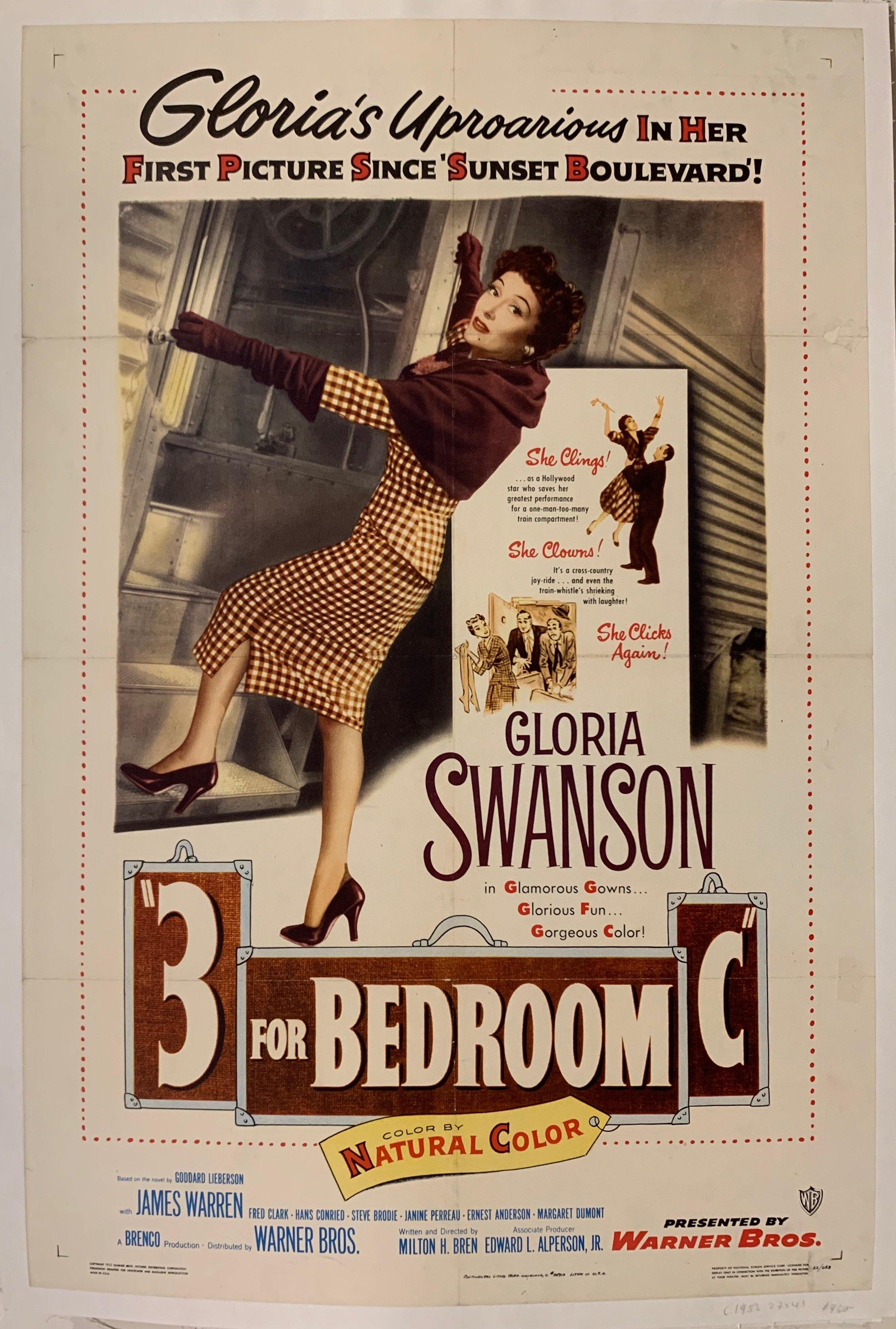 3 For Bedroom C Film Poster - Poster Museum