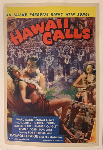Hawaii Calls Film Poster