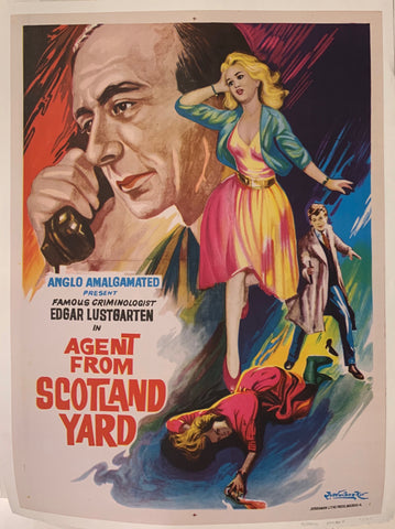 Agent From Scotland Yard Film Poster