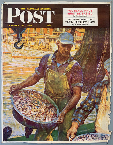 The Saturday Evening Post - October 25, 1947