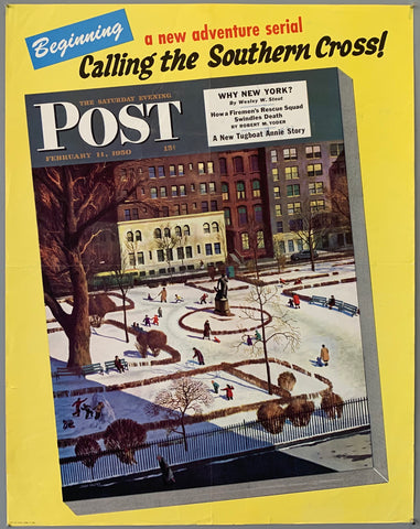 Saturday Evening Post- February 11, 1950
