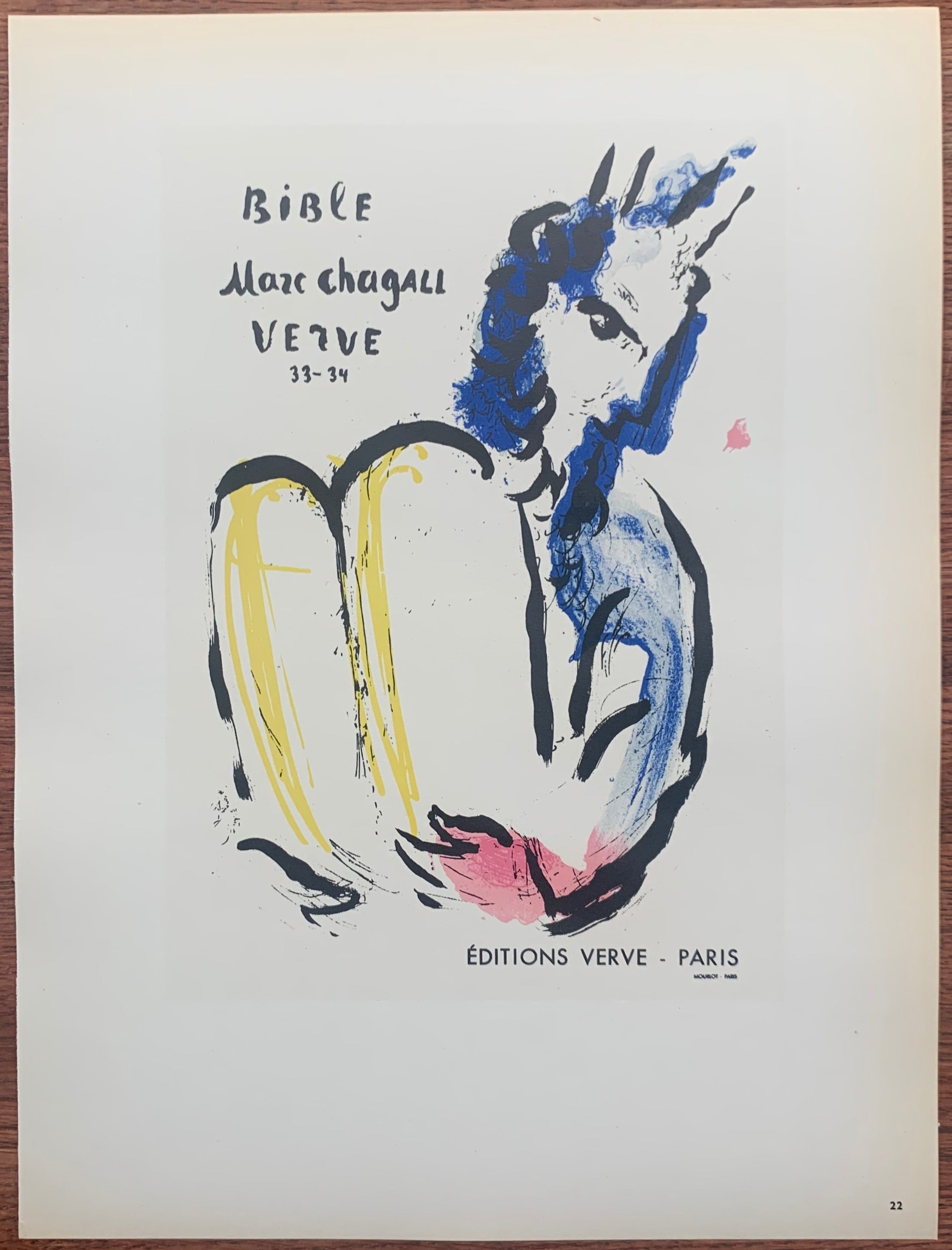 Chagall Bible Verve #22
