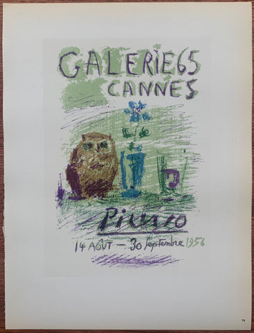 Picasso Galerie 65 Cannes #78