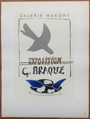 G. Braque Galerie Maeght #98