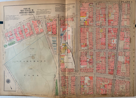 Atlas of the City of New York  Borough of the Bronx (Volume 2) 42