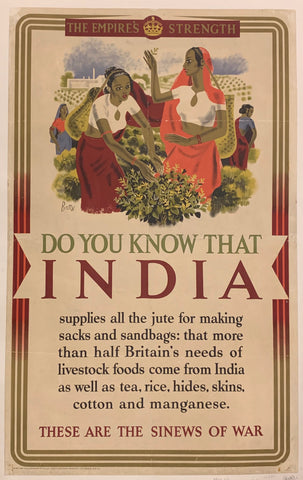 The Empire's Strength India Poster