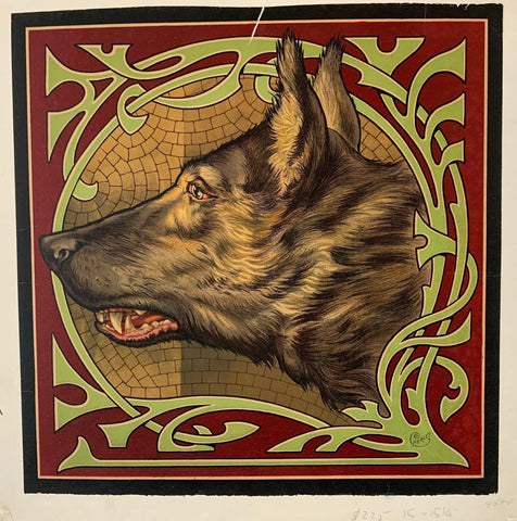 Wolf Portrait - Poster Museum