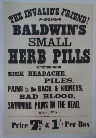 Baldwin's Smal Herb Pills