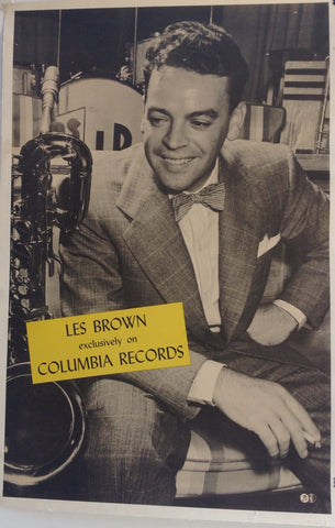 Les Brown exclusively on Columbia Records