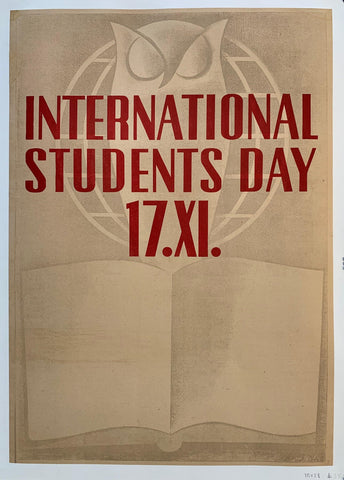 International Students Day 17 - Poster Museum
