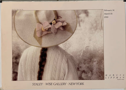 Title: Staley - Wise Gallery - New York <p> Marcia Lippman Amanda's Braid <p> February 14, March 30, 1990  <p> Artist: