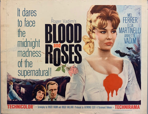 Blood And Roses Film Poster