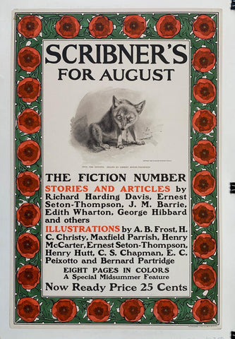 Scribner's for August - Poster Museum