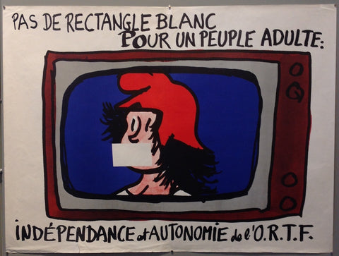 Pas de Rectangle Blanc Pour Un Peuple Adulte