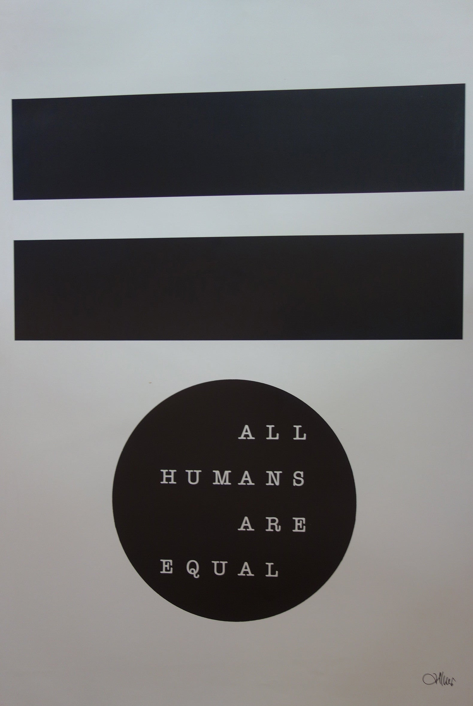 All Humans Are Equal