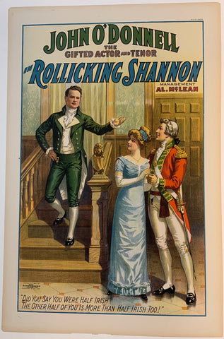 "John O' Donnel in ""Rollicking Shannon"""