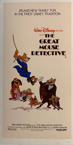 The Great Mouse Detective - Poster Museum