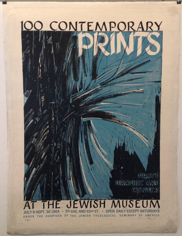 100 Contemporary Prints at the Jewish Museum