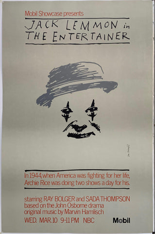 Jack Lemmon in The Entertainer